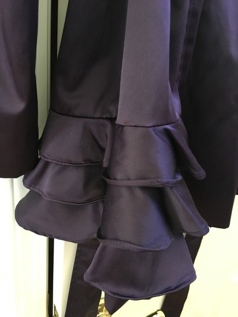 Esley Ruffles Trench Coat Image 5