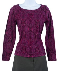 Jones New York Paisley Sweater