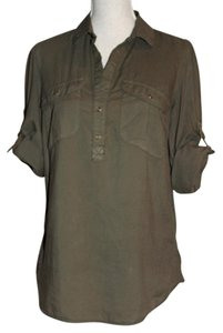 FEI Top olive green