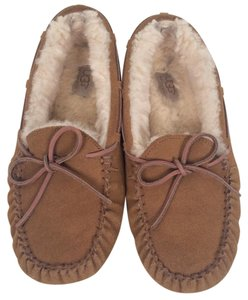UGG Australia Slipper Leather Ugg Moccassin brown Flats