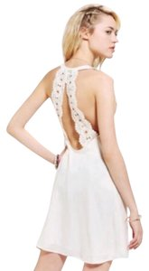 Stone Cold Fox short dress Ivory on Tradesy