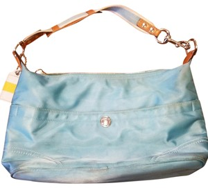 Coach Summer Satchel in Turquoise