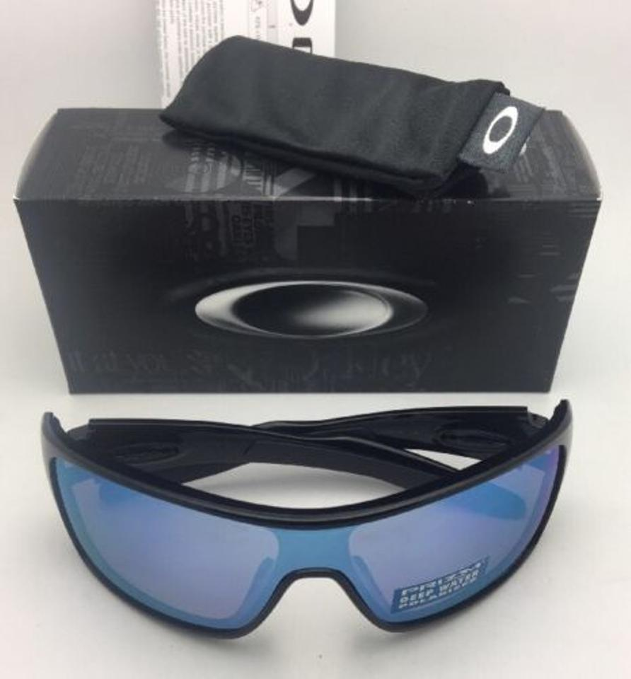 208f44d544 Oakley Polarized OAKLEY Sunglasses TURBINE ROTOR OO9307-08 Black w PRIZM  Deep Image 8. 123456789