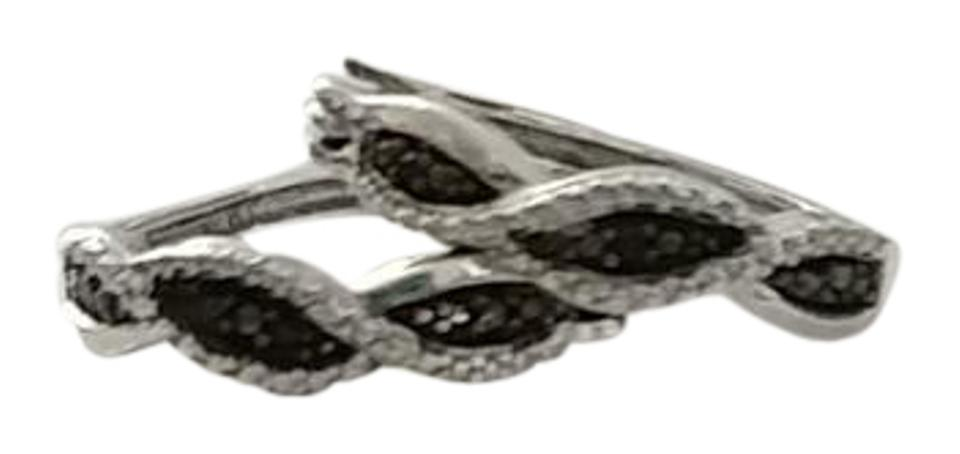 28d911767 Kay Jewelers Sterling Silver W/Black and White Dia .25cttw Diamond ...