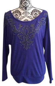 Miss Me Top Purple