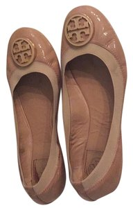 Tory Burch Camilla Pink-(Nude) Flats