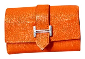 Hermès Bearn Coin Card Case Bifold Epsom Leather