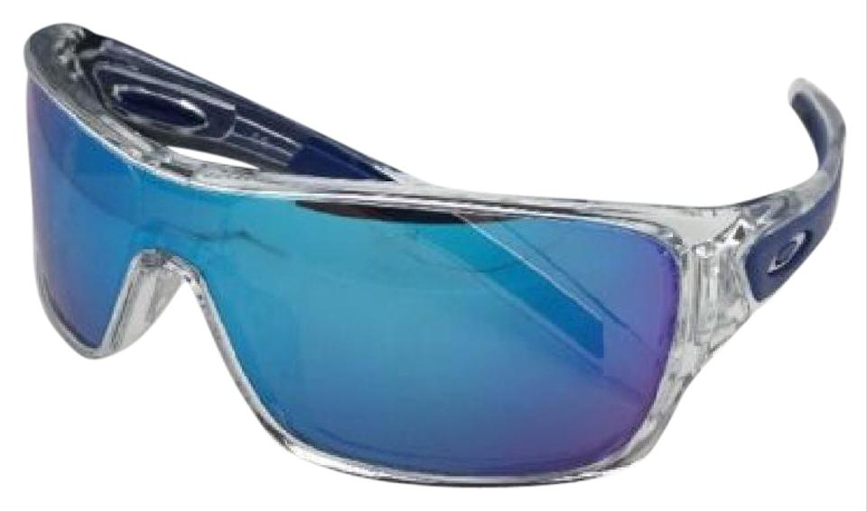 98912ffb77 Oakley New OAKLEY Sunglasses TURBINE ROTOR OO9307-10 Clear w Sapphire  Iridium Image 0 ...
