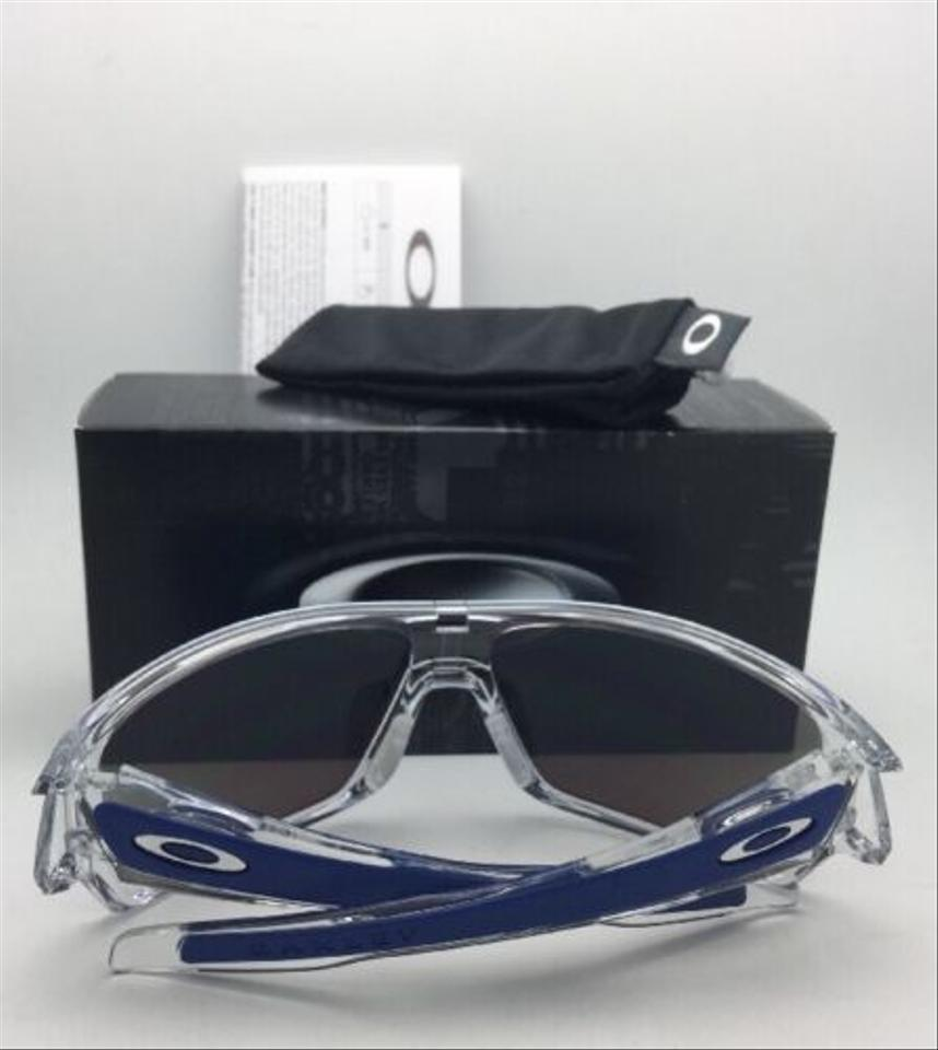 35949f0841 Oakley New OAKLEY Sunglasses TURBINE ROTOR OO9307-10 Clear w Sapphire  Iridium Image 7. 12345678