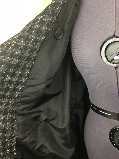 Larry Levine Houndstooth Trench Coat Image 4