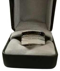 Charming Charlie Charming Charlie striped eternity ring