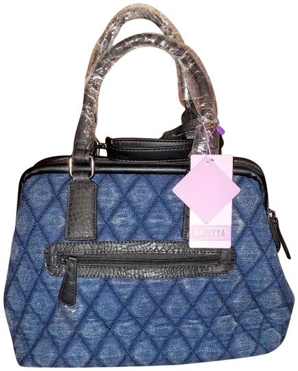 Preload https://img-static.tradesy.com/item/21106060/quilted-dome-bluedenim-satchel-0-2-540-540.jpg