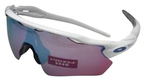 Oakley New OAKLEY Sunglasses RADAR EV PATH OO9208-47 White w/ PRIZM Sapphire