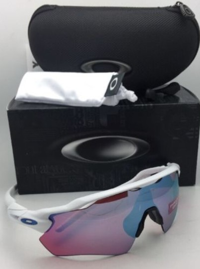Oakley New OAKLEY Sunglasses RADAR EV PATH OO9208-47 White w/ PRIZM Sapphire Image 3