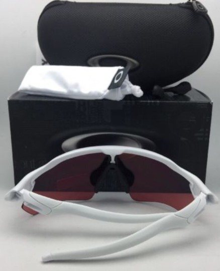 Oakley New OAKLEY Sunglasses RADAR EV PATH OO9208-47 White w/ PRIZM Sapphire Image 4