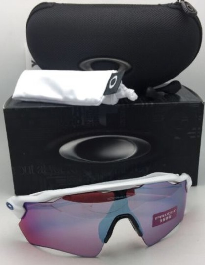 Oakley New OAKLEY Sunglasses RADAR EV PATH OO9208-47 White w/ PRIZM Sapphire Image 6