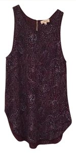 Wilfred Top Purple Patterned