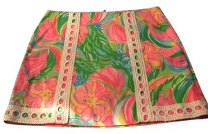 Lilly Pulitzer Mini Skirt Multi Color