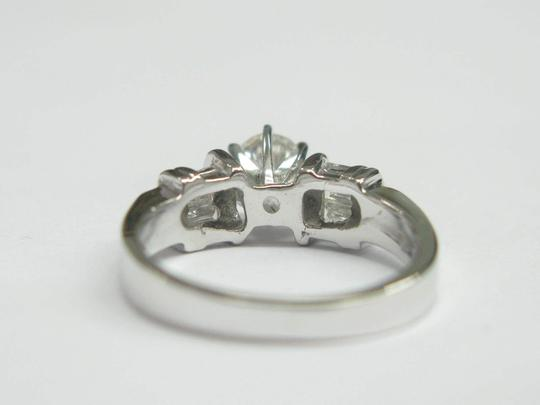Other Fine Round & Baguette Diamond Engagement Ring F - SI1 EGL .70CT Image 3