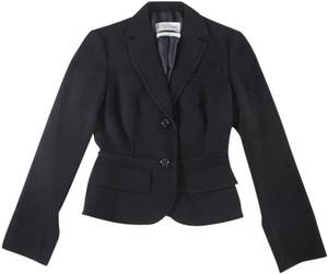 Saint Laurent Wool Jacket Yves Black Blazer