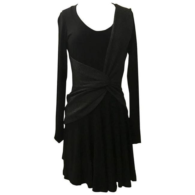 Item - Black and Grey Ballet Short Casual Dress Size 2 (XS)