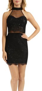 Macy's Glitter Lace Trim Dress