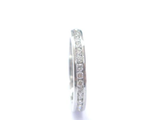 Other Platinum Round Cut Diamond Channel Set Eternity Band Ring 36-Stones .7 Image 1