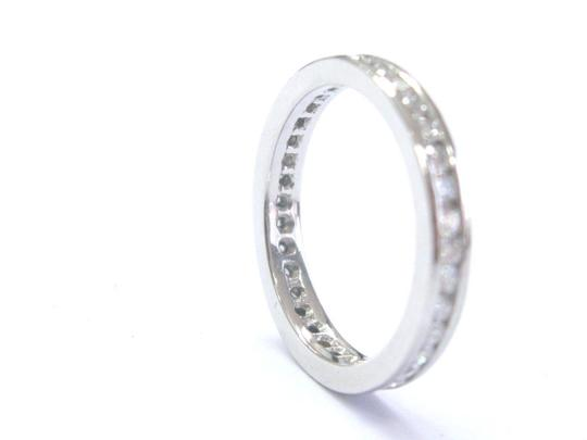 Other Platinum Round Cut Diamond Channel Set Eternity Band Ring 36-Stones .7 Image 2
