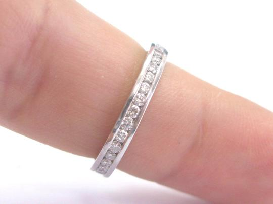Other Platinum Round Cut Diamond Channel Set Eternity Band Ring 36-Stones .7 Image 3