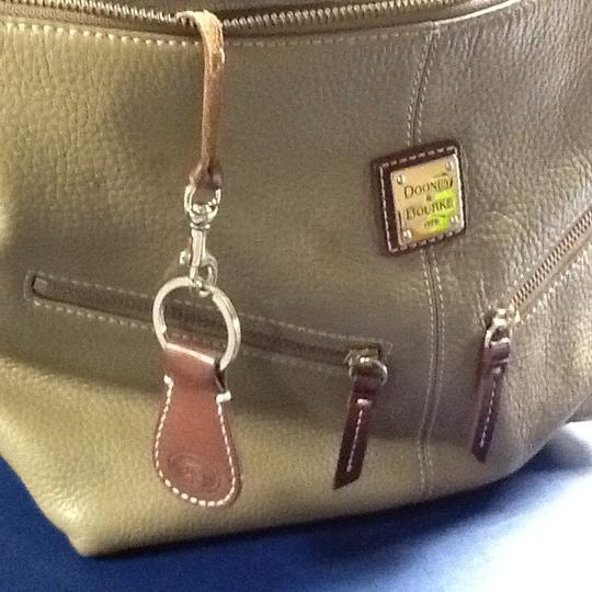 Dooney & Bourke Satchel in Tan Image 8