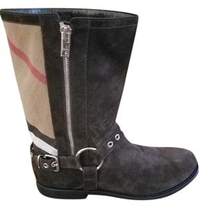 Burberry Brown (sepia grey) Boots
