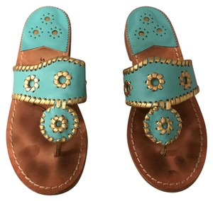 Jack Rogers turquoise Sandals