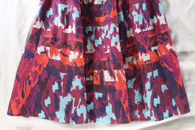 Peter Pilotto Emma Rh Printed Cloque A-line Skirt Multicolor Image 2