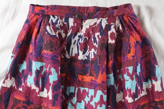 Peter Pilotto Emma Rh Printed Cloque A-line Skirt Multicolor Image 7
