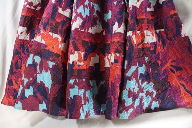 Peter Pilotto Emma Rh Printed Cloque A-line Skirt Multicolor Image 8