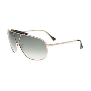 Balenciaga Balenciaga Gold Shield Sunglasses