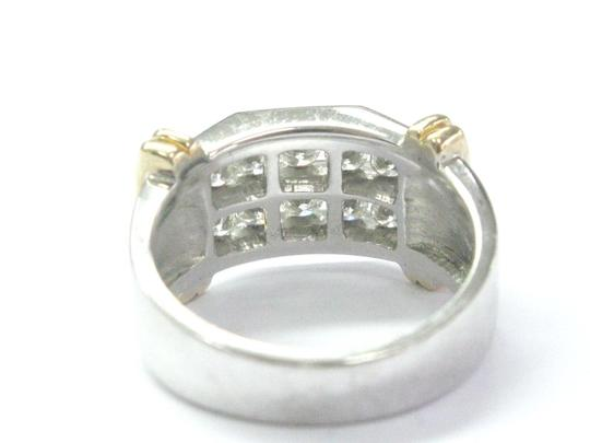 Other Fine Two-Tone Round Cut Diamond Mens Jewelry Ring 1.00Ct 10KT Image 2