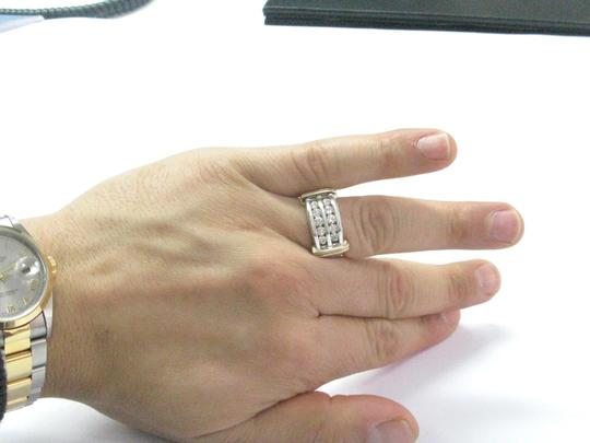 Other Fine Two-Tone Round Cut Diamond Mens Jewelry Ring 1.00Ct 10KT Image 4