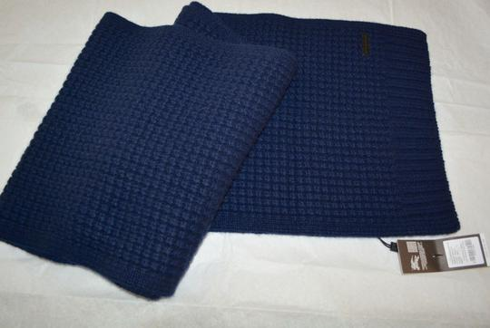 Burberry BURBERRY CASHMERE WAFFLE KNITTED SCARF WRAP Image 3