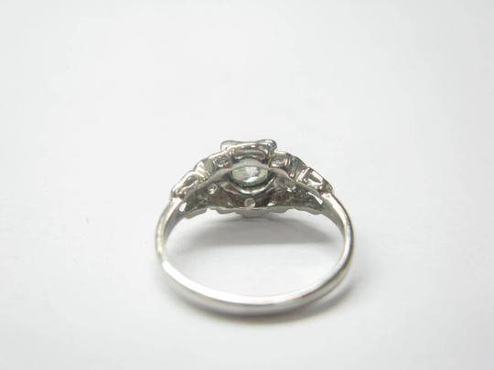 Other Platinum Old European Cut Diamond Solitaire Ring .58CT Image 2