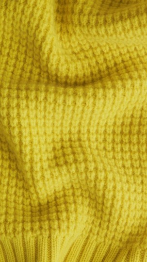 Burberry BURBERRY CASHMERE WAFFLE KNITTED SCARF WRAP Image 1