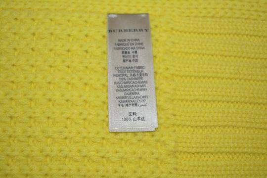 Burberry BURBERRY CASHMERE WAFFLE KNITTED SCARF WRAP Image 2