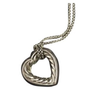 David Yurman heart necklace
