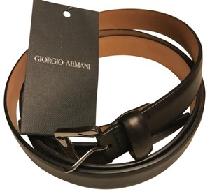 Giorgio Armani Genuine Leather Belt size58