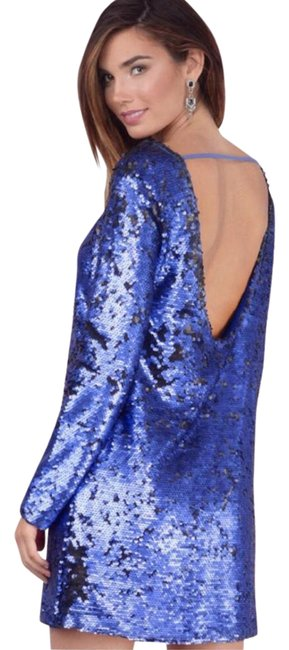Preload https://img-static.tradesy.com/item/21107201/minkpink-blue-sequin-open-back-mini-short-night-out-dress-size-0-xs-0-1-650-650.jpg
