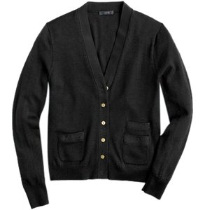 J.Crew Buttons Gold Cardigan