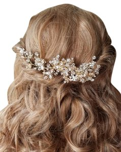 Gold Comb Hair Accessory