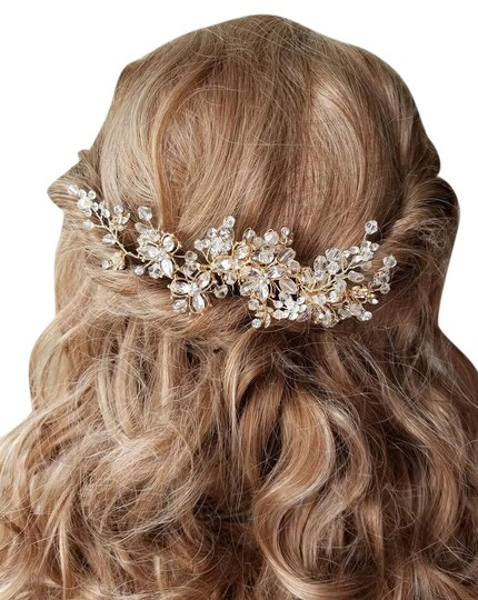 Gold Comb Hair Accessory Image 1