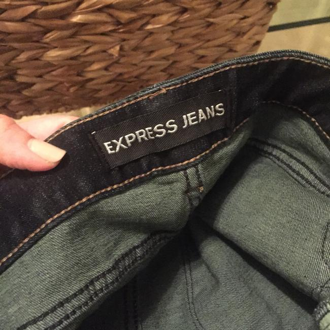 Express Boot Cut Jeans-Dark Rinse Image 4