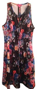 Betsey Johnson short dress Multi Comfortable Floral on Tradesy